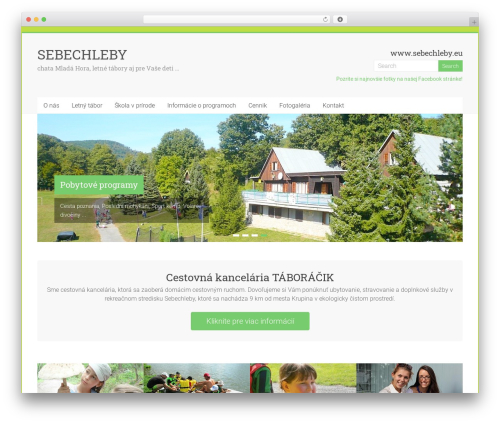 Accelerate free website theme - wp.sebechleby.eu