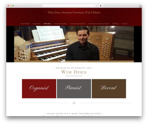 WordPress wpclef plugin - wensmusic.nl/wens/wimdoes-organist-musicus-pianist-koorbegeleiding-arrangeur