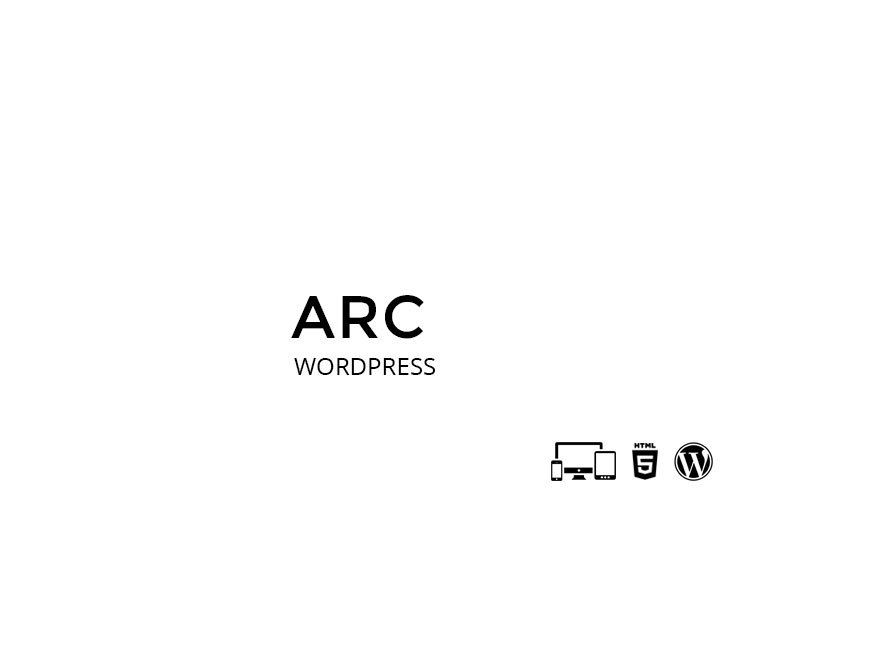 Arc WordPress template for business