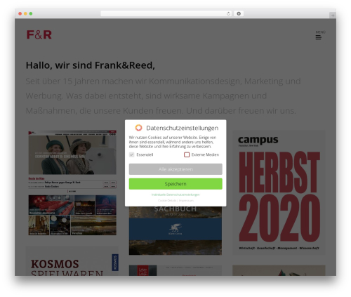 Basic WP theme - frank-reed.de