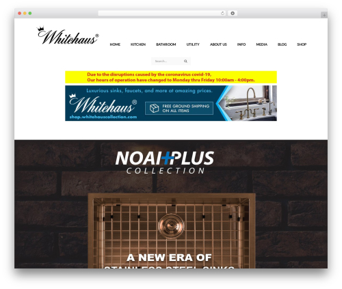Best WordPress template Accessories Woocommerce Theme - whitehauscollection.com