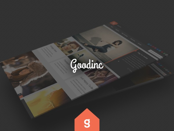 Best WordPress template GoodInc