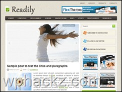 Best WordPress theme Readily