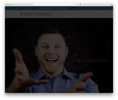 Betheme best WordPress template - william-martinez.com