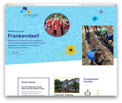 Betheme WordPress theme - frankendaelschool.nl