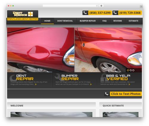 cherry premium WordPress theme - fixthedent.com