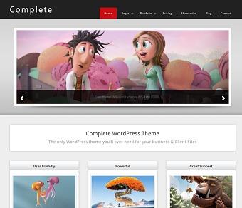 Complete WordPress theme design