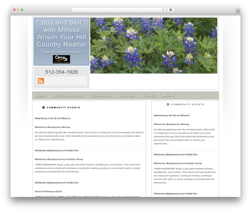 Concise best WordPress theme - wimberleyhomessale.com