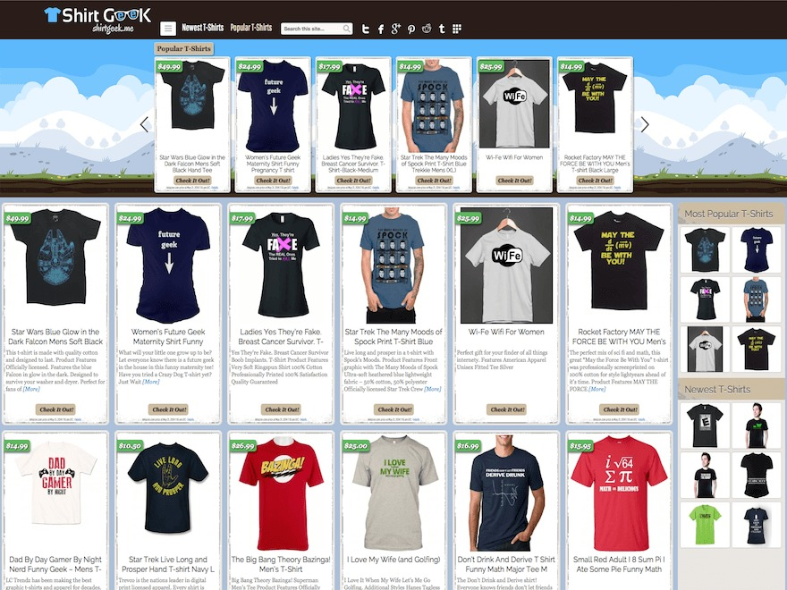 Covert Shirt Store Theme best WooCommerce theme