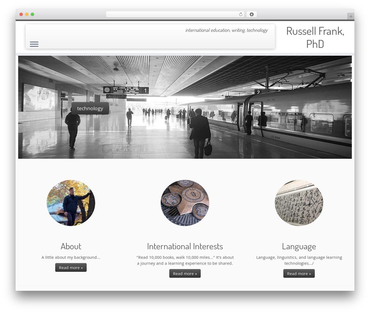 Customizr best free WordPress theme - frank-ed.com