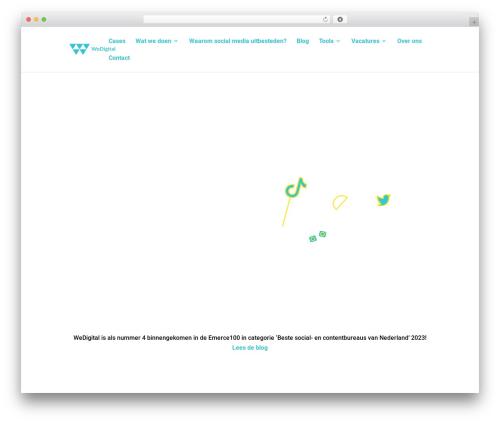 Divi WordPress template - wedigital.nl