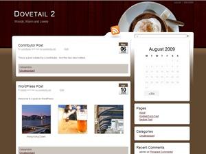 Dovetail WordPress theme image