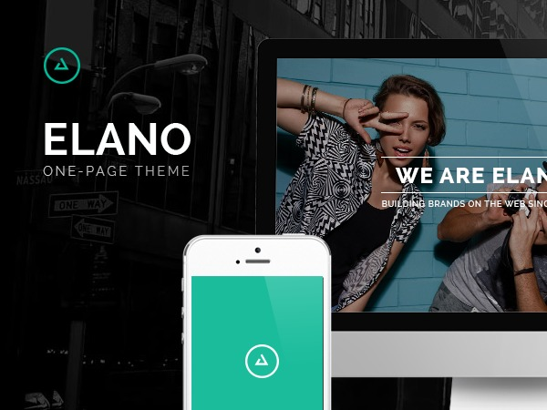 Elano WordPress video template