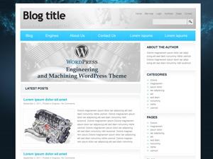 Engineering and Machinering best WordPress template