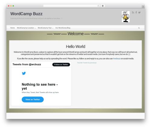 Free WordPress Feature A Page Widget plugin - wc.techconf.buzz