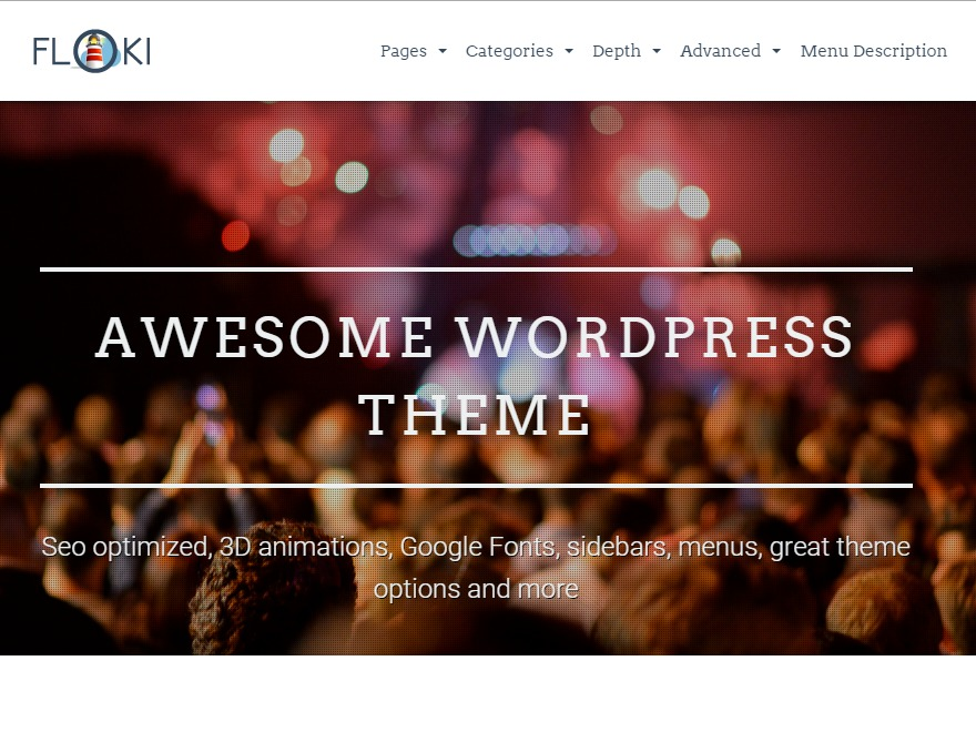 Floki WordPress website template