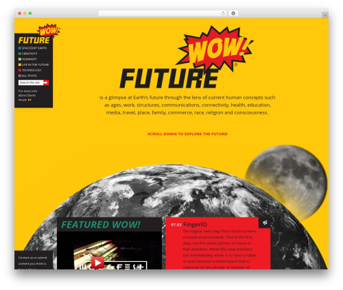 Free WordPress WP Video Lightbox plugin - futurewow.com