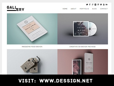 Gallery Responsive WordPress Theme best WordPress gallery