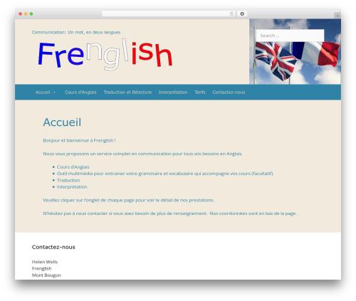 GeneratePress WordPress theme download - frenglish.net