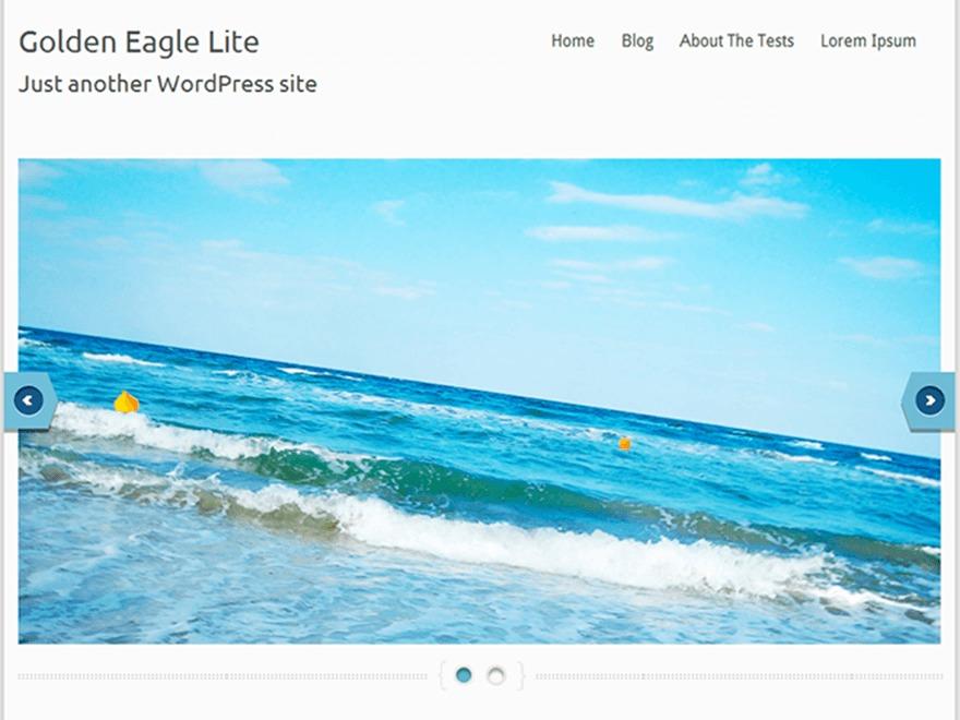 Golden Eagle Lite WordPress theme image
