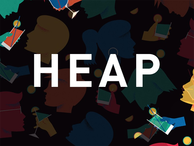 Heap WordPress blog template