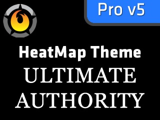 HeatMap Ultimate Authority Black (HMT Pro Skin) theme WordPress