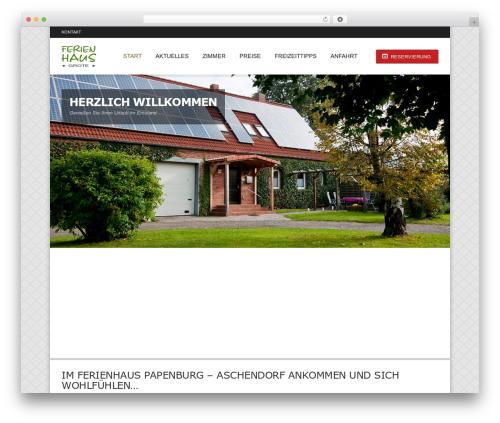 Hotec premium WordPress theme - ferienhaus-papenburg-emsland.de
