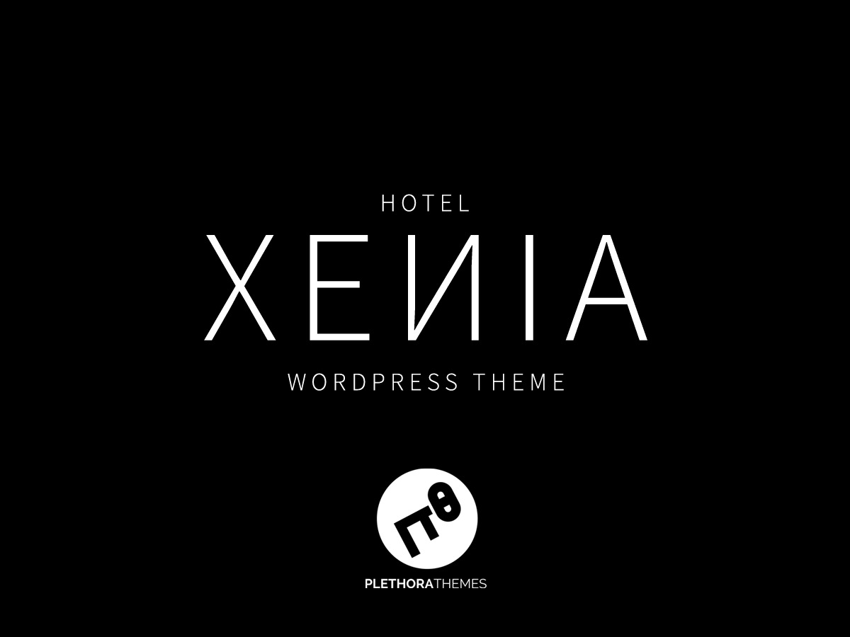 Hotel Xenia best hotel WordPress theme