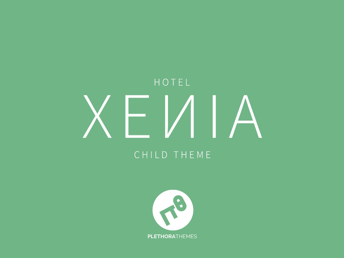 Hotel Xenia Child best hotel WordPress theme