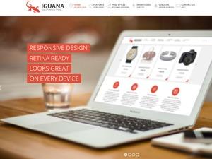 Iguana best WordPress theme