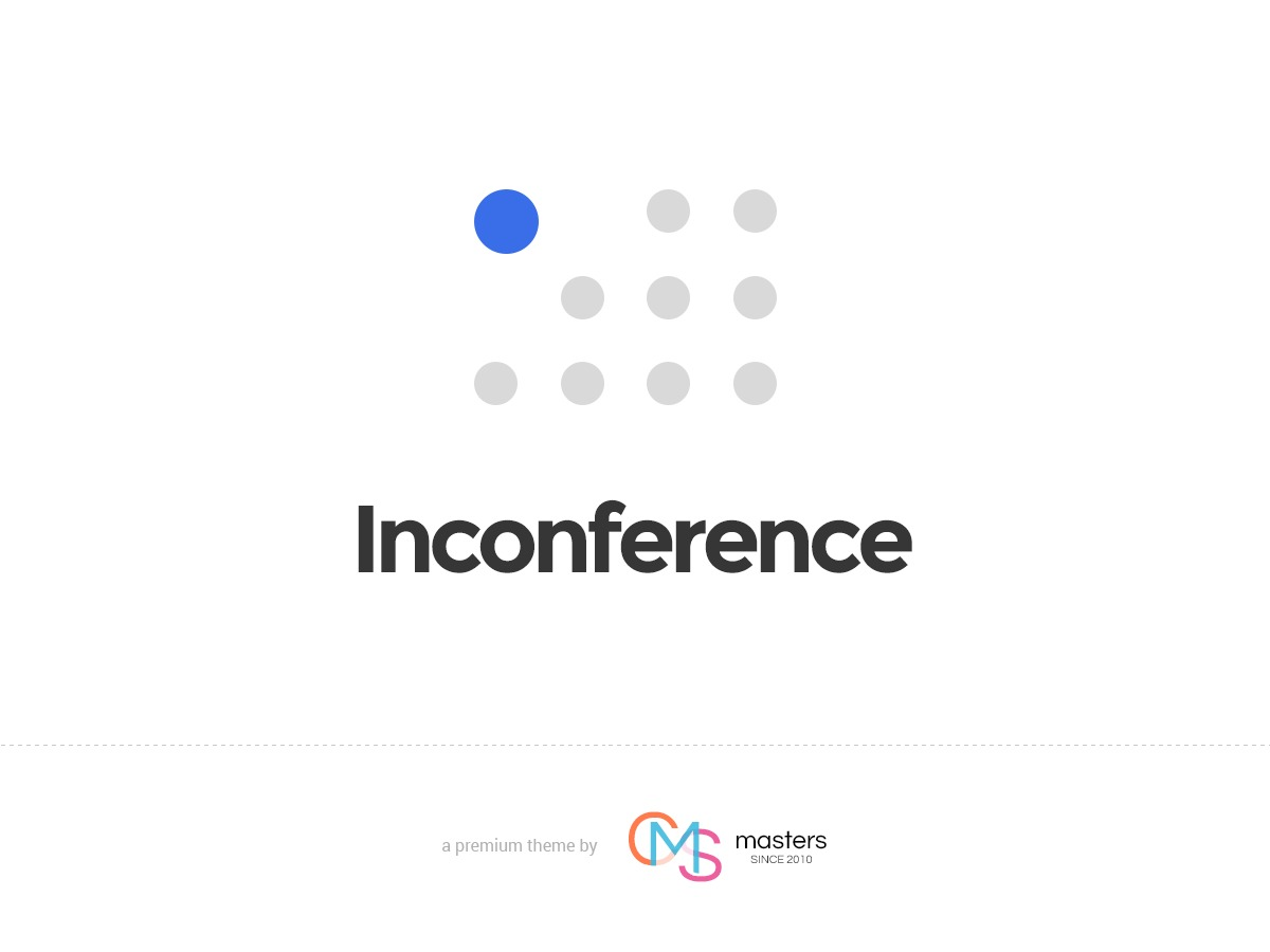 In Conference best portfolio WordPress theme