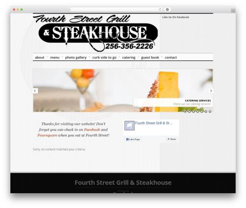 (in)SPYR template WordPress - fourthstreetgrill.com