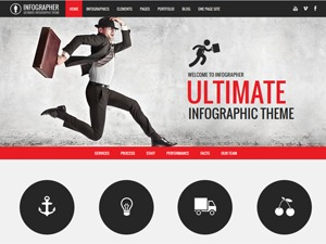 Infographer Child template WordPress
