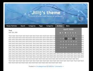 Jillij WordPress theme