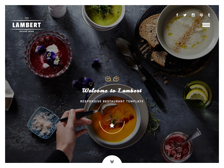 Lambert business WordPress theme