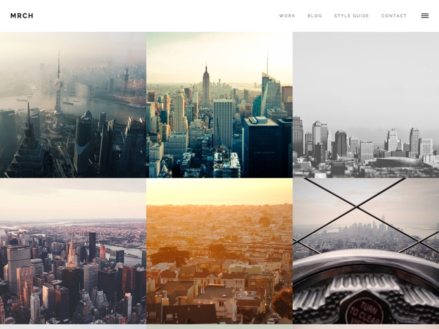 March business WordPress theme