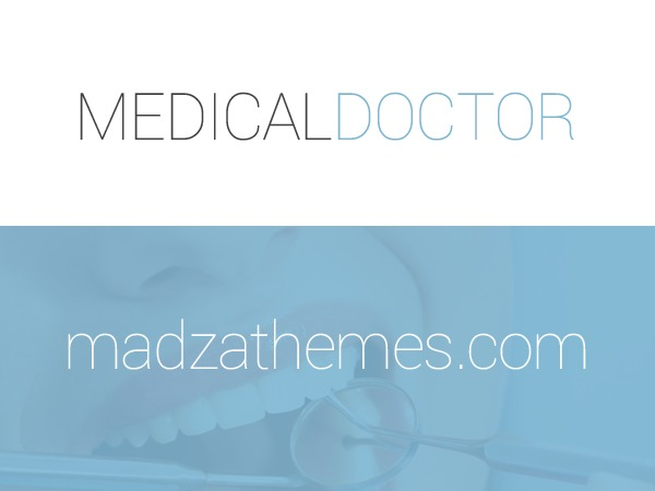 MedicalDoctor medical WordPress theme