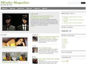 Mimbo newspaper WordPress theme