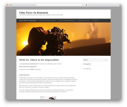 Minimal Xpert best WordPress template - fixerinromania.ro
