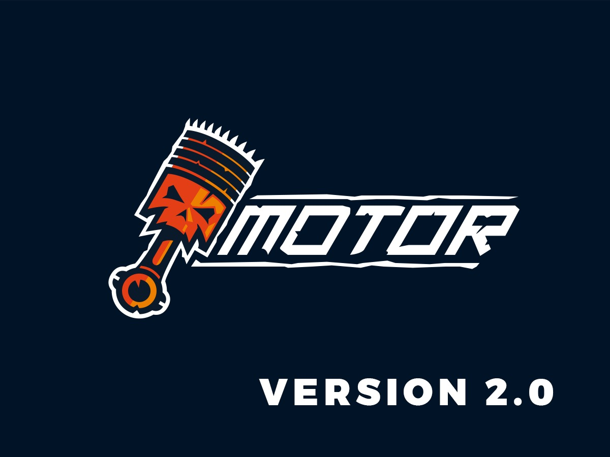Motor template WordPress