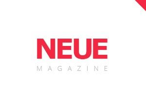 NEUE WordPress magazine theme