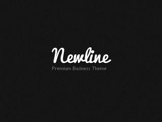 Newline Premium Business WordPress Theme WordPress template for business