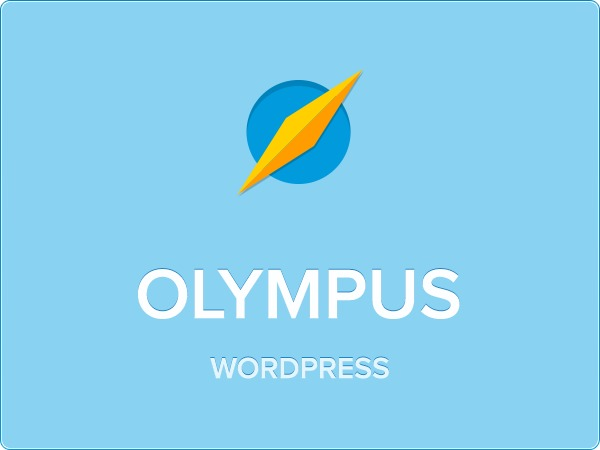 Olympus template WordPress