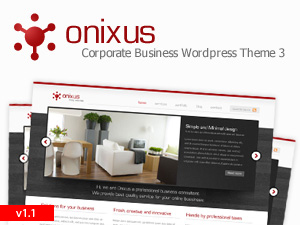 Onixus business WordPress theme