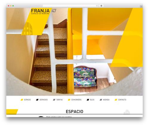 PageLines Framework WordPress template - franja47.com