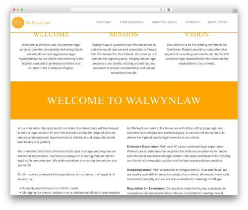Palette template WordPress free - walwyn-law.com