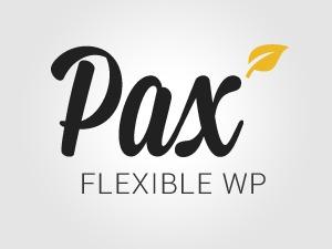 Pax WordPress portfolio template