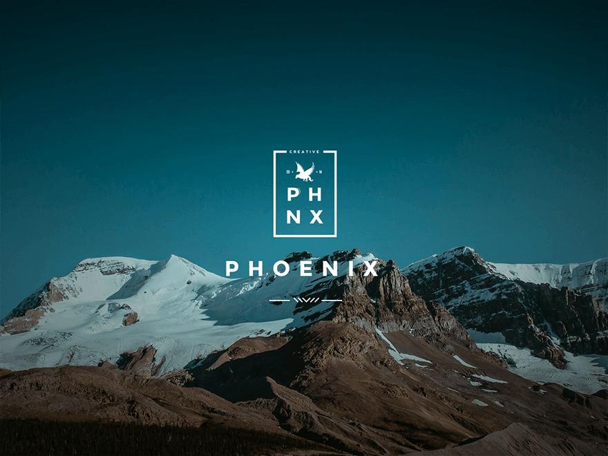 Phoenix theme WordPress portfolio