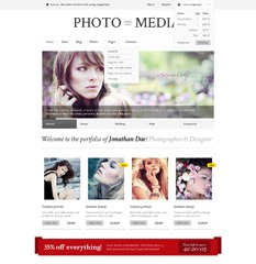 Phomedia WordPress store theme