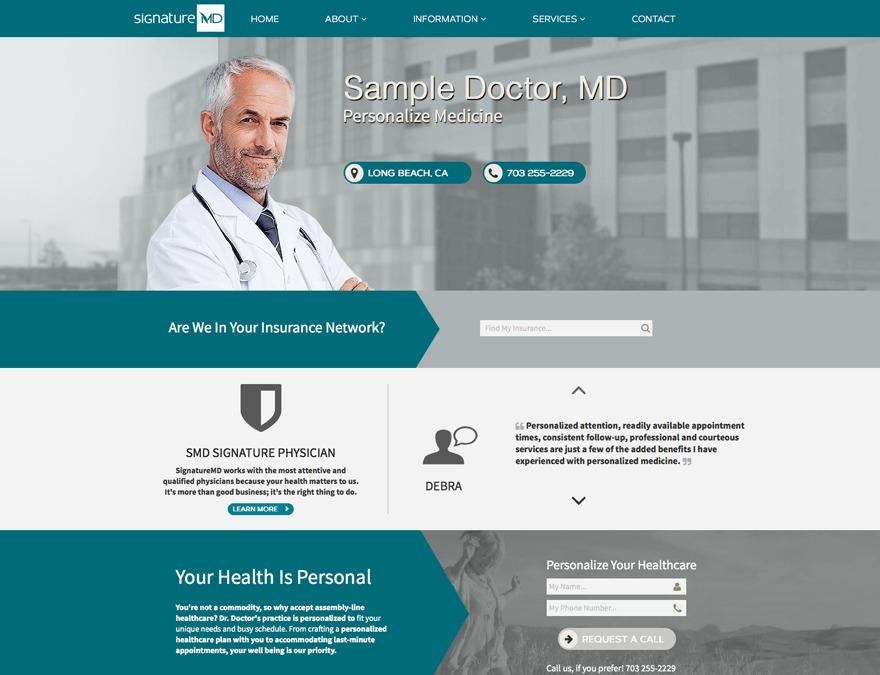 Physician - SMD Palette top WordPress theme